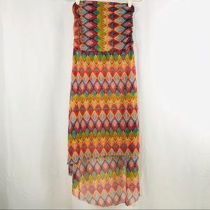 Bisou bisou colorful dress sizeL & XL